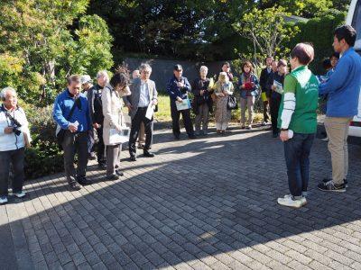 地域緑のまちづくり事業現地見学会