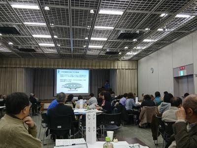 横浜市地域緑のまちづくり活動報告会&交流会に参加しました